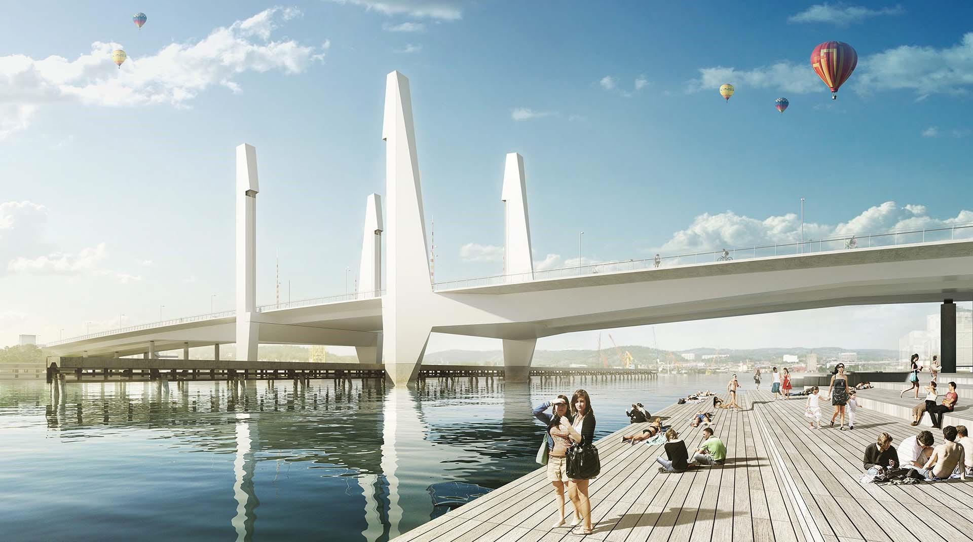 Resultado de imagem para Hisings Bridge