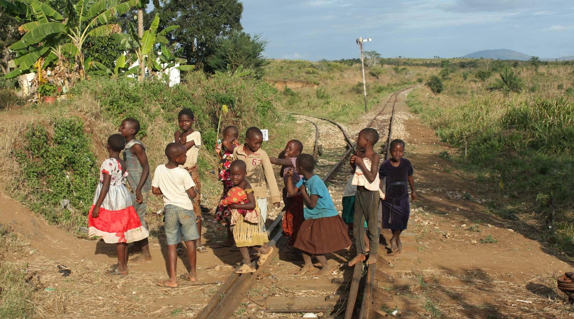 new standard gauge railway from dar es salaam to morogoro