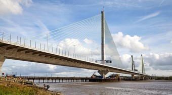 The Mersey Gateway bridge