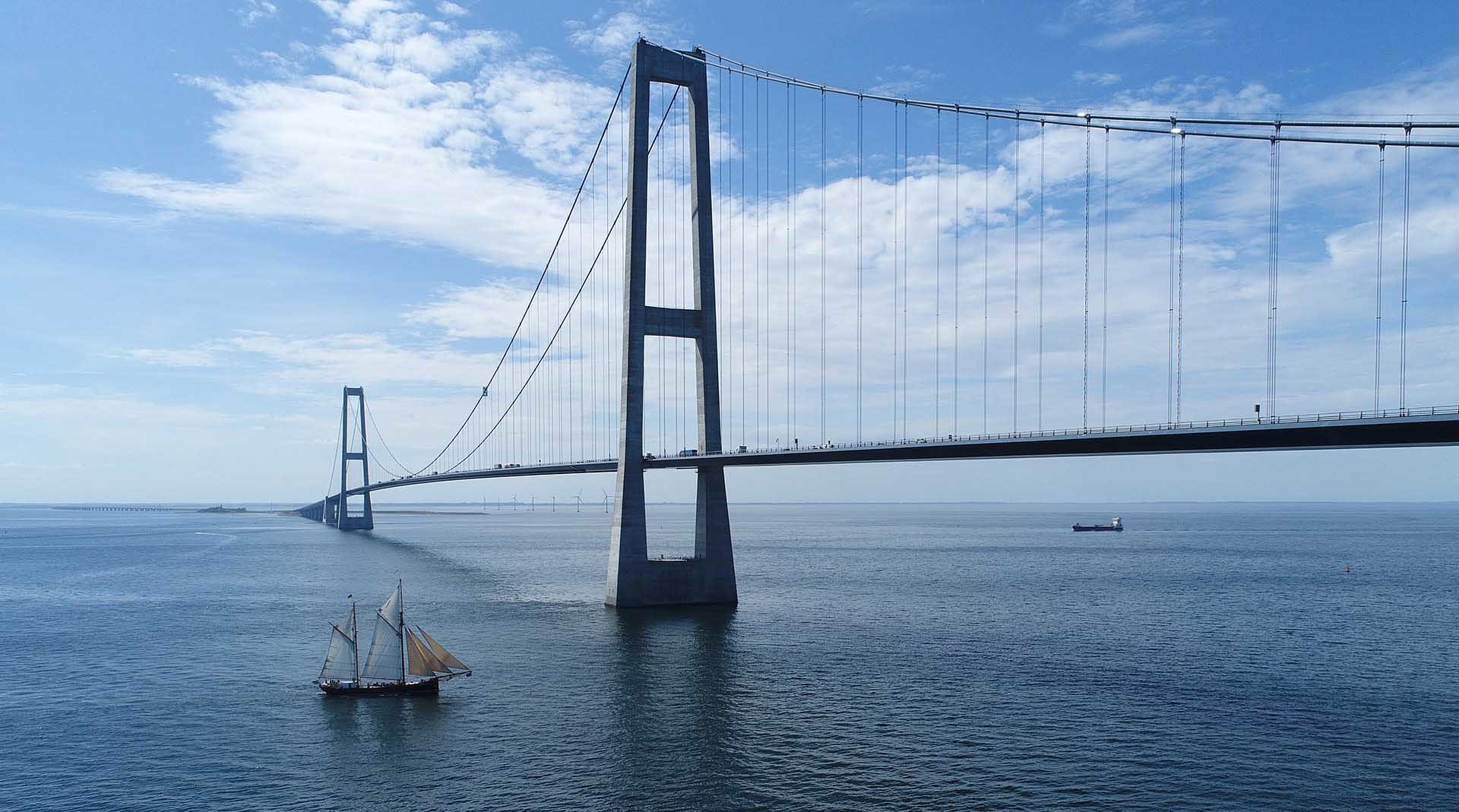 The Great Belt Bridge
